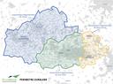 Carte du périmètre d'Euralens